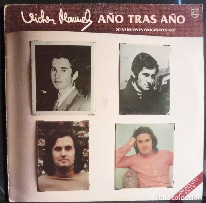 VICTOR MANUEL // 20 VERSIONES ORIGINALES // DISCO DOBLE // 1982 // (VG VG). LP (Música - Discos - LP Vinilo - Cantautores Españoles)