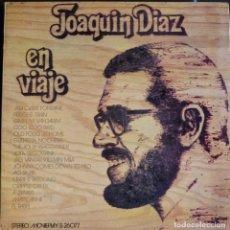 Disques de vinyle: JOAQUIN DÍAZ // EN VIAJE // 1971 // (VG VG). PORTADA DOBLE. LP. Lote 167284580