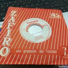 Discos de vinilo: LOS TONYS SINGLE PROMOCIONAL ZORONGO GITANO 1964. Lote 167293158
