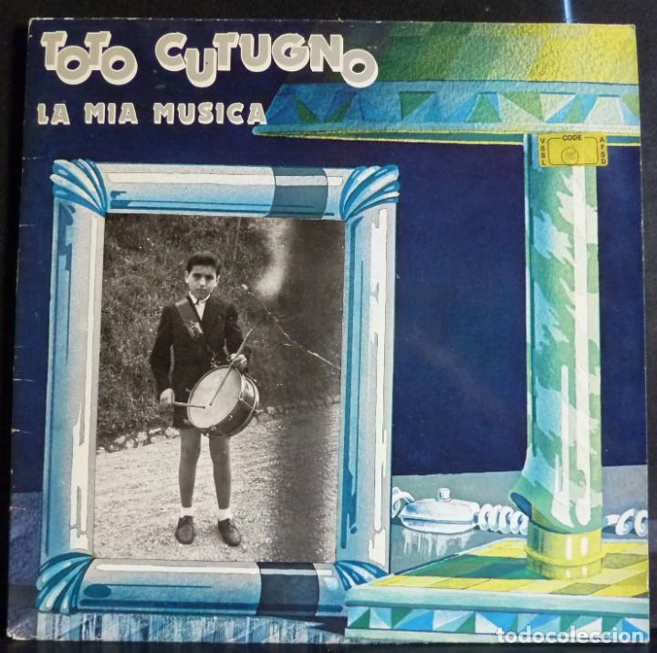 TOTO CUTUGNO // LA MIA MUSICA // 1981 // PORTADA DOBLE // (VG+ VG+).MADE IN ITALY. LP (Música - Discos - LP Vinilo - Canción Francesa e Italiana)