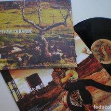 Discos de vinilo: CAPITAN COBARDE - ST - LP BLISS 2015 // ALBERTUCHO. Lote 167345156