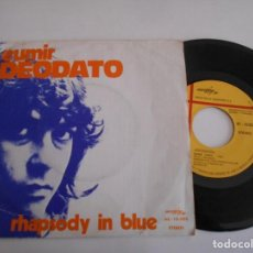 Discos de vinilo: EUMIR DEODATO-SINGLE RHAPSODY IN BLUE. Lote 167378804