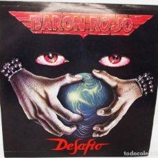 Discos de vinilo: SINGLE BARON ROJO - DESAFIO - AVISPA AÑO 1992. Lote 167418044
