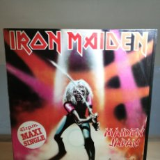 Discos de vinilo: IRON MAIDEN | MAIDEN JAPAN | LP | MAXI | SINGLE | 45 RPM | SPANISH EMI 1983 REISSUE VINILO 12. Lote 114266399