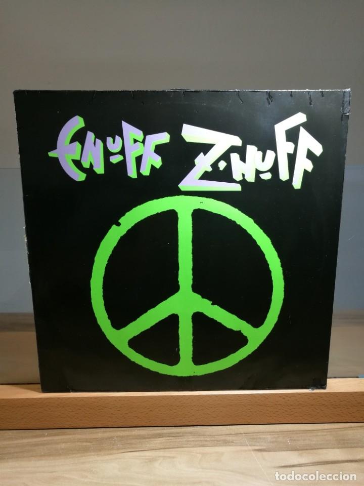 ENUFF Z' NUFF LP 1989 ATCO RECORDS GERMANY (Música - Discos - LP Vinilo - Heavy - Metal)