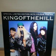 Discos de vinilo: KING OF THE HILL | IF I SAY | MAXI | SINGLE | VINILO 12 | EDICION LIMITADA | CON POSTER!. Lote 119844951