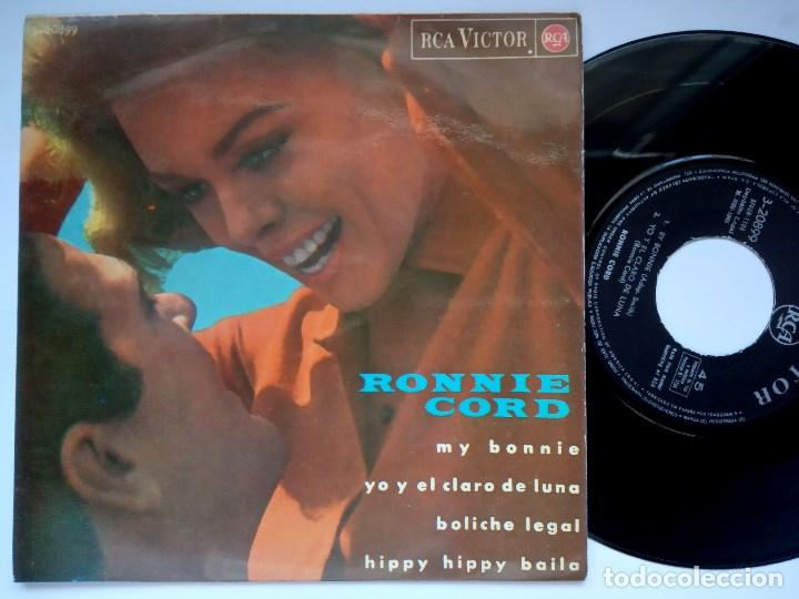 RONNIE CORD - HIPPY HIPPY BAILA - EP 1965 - RCA (Música - Discos de Vinilo - EPs - Rock & Roll)