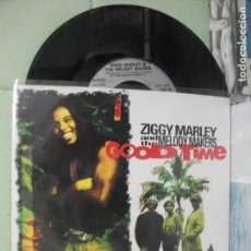 Discos de vinilo: ZIGGY MARLEY & THE MELODY MAKERS GOOD TIME SINGLE UK 1991 PDELUXE. Lote 167454892