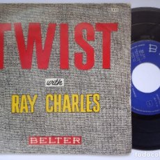 Discos de vinil: RAY CHARLES - TWIST CON RAY CHARLES - EP 1962 - BELTER. Lote 167456132