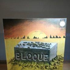 Discos de vinilo: BLOQUE LP VINILO 1983 CHAPA DISCOS REEDICION ORIGINAL 1978. Lote 77477137