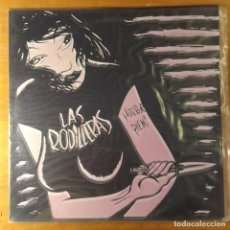 Discos de vinilo: LAS RODILLERAS - HORROR PLENI.LP DISUNDEAD RECORDS – CRUDA REALIDAD 2009 (PORTADA FOSFORESCENTE). Lote 167460764