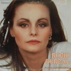 Discos de vinilo: LP ROCÍO DÚRCAL. Lote 167467636