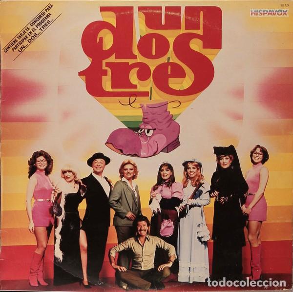 UN, DOS, TRES... LP SPAIN 1983 - BIGOTE ARROCET + MAYRA GÓMEZ KENT+BEATRIZ CARVAJAL +ETC (Música - Discos - LP Vinilo - Bandas Sonoras y Música de Actores )