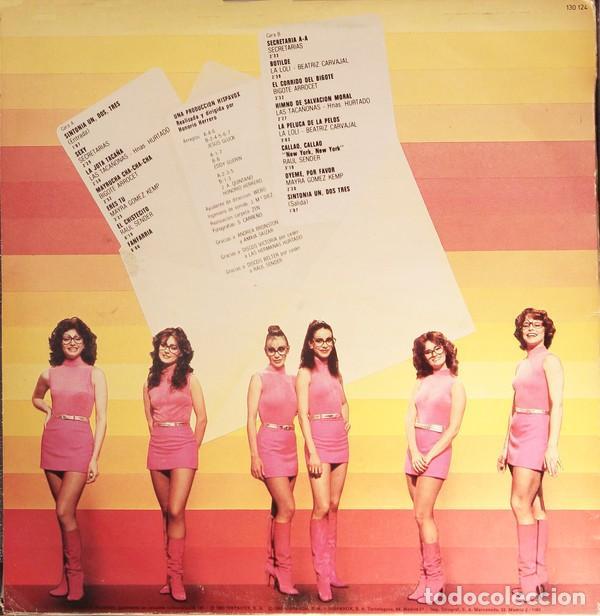 Discos de vinilo: UN, DOS, TRES... LP SPAIN 1983 - BIGOTE ARROCET + MAYRA GÓMEZ KENT+BEATRIZ CARVAJAL +ETC - Foto 2 - 176726338