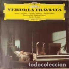 Discos de vinilo: VERDI – LA TRAVIATA – VERDI – LA TRAVIATA – DTOR.- CARLOS KLEIBER - DEUTSCHE GRAMMOPHON. Lote 167474564