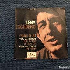 Discos de vinilo: LENY ESCUDERO ?– L'ARBRE DE VIE LABEL: BEL AIR ?– 211070 SERIES: VARIÉTÉS (3) – FORMAT: VINYL, 7 . Lote 167476276
