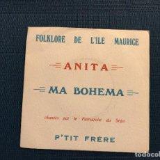 Discos de vinilo: P'TIT FRÈRE* ?– ANITA / MA BOHEMA LABEL: THE MODERN STORES ?– 8305 FORMAT: VINYL, 7 , 45 RPM . Lote 167477560