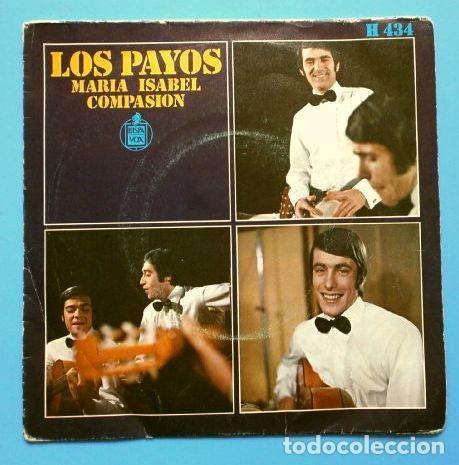 LOS PAYOS (SINGLE 1969) MARIA ISABEL - COMPASION (Música - Discos - Singles Vinilo - Grupos Españoles 50 y 60)