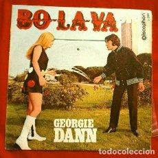 Dischi in vinile: GEORGIE DANN (SINGLE 1969) BO - LA - VA - TCHANG TCHU YO. Lote 167479368