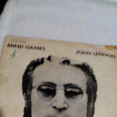 Discos de vinilo: AR,DISCO VINILO ,JOHN LENNON. ,MIND GAMES,,FUNDA VIEJA,ENVIO 2,99 EUROS. Lote 167481816