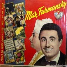 Discos de vinilo: LP ARGENTINO DE MAX FURMANSKY. Lote 167482144