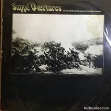 Discos de vinilo: LP ARGENTINO OBERTURAS DE SUPPÉ AÑO 1958. Lote 167482500