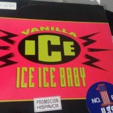 Dischi in vinile: SINGLE (VINILO) DE VANILLA ICE AÑOS 90. Lote 167491968