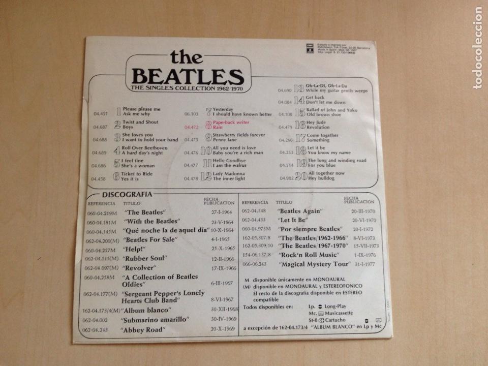 Discos de vinilo: Beatles - The Singles Collection num. 8 - Foto 2 - 167495429