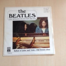 Discos de vinilo: BEATLES - THE SINGLES COLLECTION NUM. 15. Lote 167496070