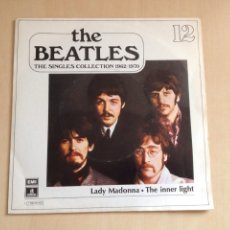 Discos de vinilo: BEATLES- THE SINGLES COLLECTION NUM. 12. Lote 167496305