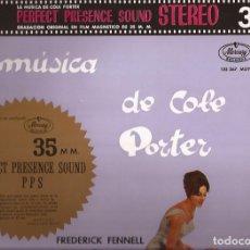 Discos de vinilo: LP FREDERICK FENNELL Y SU ORQ. LA MÚSICA DE COLE PORTER MERCURY 135367 SPAIN. Lote 167496388