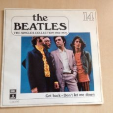 Discos de vinilo: BEATLES - THE SINGLES COLLECTION NUM. 14. Lote 167496508