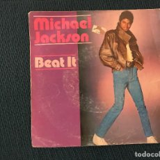 Discos de vinilo: MICHAEL JACKSON ?– BEAT IT SELLO: EPIC ?– EPC A 3184, EPIC ?– A-3184 FORMATO: VINYL, 7 , SINGLE PAÍS. Lote 167502352