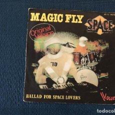 Dischi in vinile: SPACE ?– MAGIC FLY (ORIGINAL VERSION) LABEL: VOGUE ?– 45. V. 140196, VOGUE ?– 45.V. 140 196 . Lote 167503812