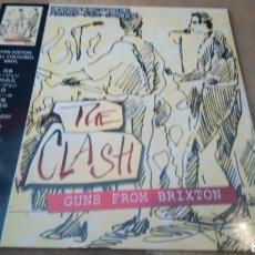 Discos de vinilo: THE CLASH, GUNS FROM BRIXTON. LIMITED EDITION. LP VINILO PRECINTADO. Lote 167505801
