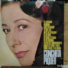 Discos de vinilo: CONCHITA PIQUER - COMO A NADIE TE HE QUERIDO, TIENTOS DEL REMORDIMIENTO... - LP. COLUMBIA 1971. Lote 167508152