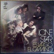 Discos de vinilo: LONE STAR - ES LARGO EL CAMINO - EKIPO 1972 - PORTADA ABATIBLE.. Lote 167508284