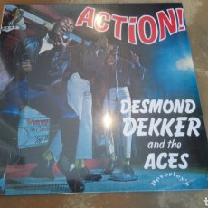 Discos de vinilo: DESMOND DEKKER AND THE ACES. ACTION! LP VINILO PRECINTADO. Lote 167511497