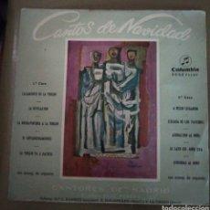 Discos de vinilo: CORO CANTORES DE MADRID - CANTOS DE NAVIDAD. Lote 167512537