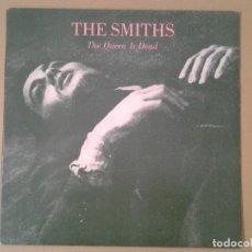 Discos de vinilo: THE SMITHS -THE QUEEN IS DEAD- LP WB ROUGH TRADE 1986 ED. ORIGINAL INGLESA ROUGH 96 GATEFOLD BUENAS . Lote 167516668