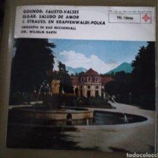 Discos de vinilo: ORQUESTA DE BAD REICHENHALL - GOUNOD, FAUSTO, VALSES. Lote 167516688