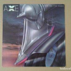 Discos de vinilo: AXE -LIVING ON THE EDGE- MCA RECORDS 1980 ED. AMERICANA MCA 3224 EN MUY BUENAS CONDICIONES. . Lote 167517116