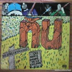 """Discos de vinilo: ÑU """"VOLANDO EN SOCIEDAD"""" SINGLE ARIOLA 1976 (SOLO PORTADA, SIN EL DISCO). Lote 167517816"""