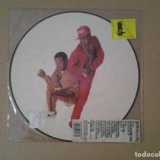 Discos de vinilo: ROB BASE & D.J. E - Z ROCK PICTURE DISC MAXI-SINGLE BCM RECORDS 18178 MUY BUENAS CONDICIONES . Lote 167517940