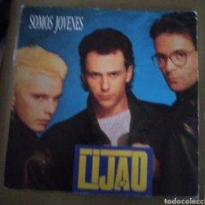 Discos de vinilo: LIJAO - SOMOS JOVENES. Lote 167518290