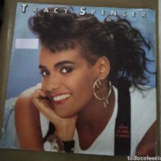 Discos de vinilo: TRACY SPENCER - LOVE IS LIKE A GAME. Lote 167518686