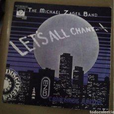 Discos de vinilo: MICHAEL ZAGER BAND - LET'S ALL CHANT. Lote 167518768