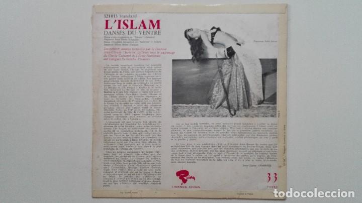 Discos de vinilo: L'Islam Danses du Ventre 12pulgadas JC Chabrier Riviera Arion Richesse du Folklore 6 - Foto 2 - 167524560