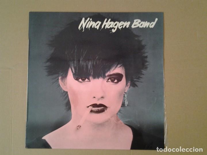 NINA HAGEN BAND -NINA HAGEN BAND- CBS 1978 ED. ESPAÑOLA S 83136 MUY BUENAS CONDICIONES Y MUY POCO US (Música - Discos de Vinilo - EPs - Jazz, Jazz-Rock, Blues y R&B)