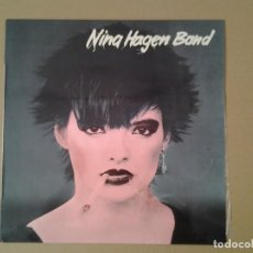 Discos de vinilo: NINA HAGEN BAND -NINA HAGEN BAND- CBS 1978 ED. ESPAÑOLA S 83136 MUY BUENAS CONDICIONES Y MUY POCO US. Lote 167525020